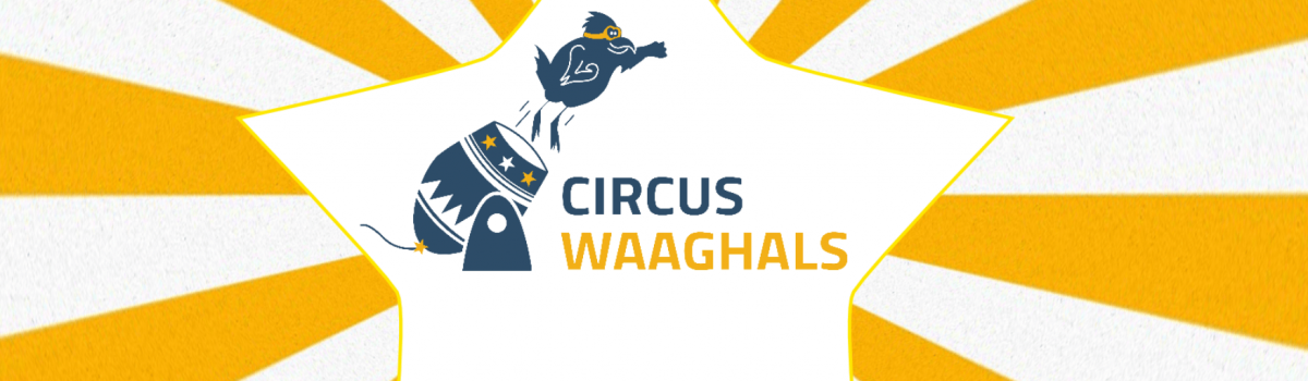 logo circuswaaghals 2018 met zonnetje